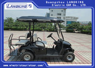 Custom Electric Golf Carts 4 Wheel Drive Four Seats CE Approved 2440×1220×1900mm