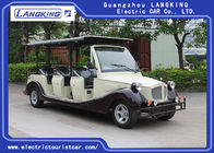 8 Person Golf Cart Car With Baskte / Electric Classic Cars For Park / Hotel
