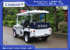 4 Seats Electric Club Vehicle With Basket / Mini Electric Patrol Bus With Toplight On Road