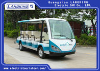 14 Seats 4 Wheels Electric Tourist Car For Resorts ,Villas , City Walking Street
